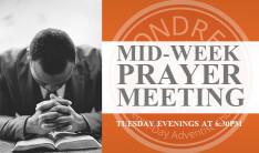 Mid-Week Prayer Meeting