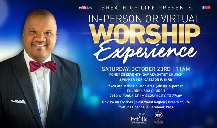 Fondren Worship Experience w-Dr. Carlton Byrd 10.23.2021